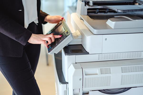 Managed Print Services: An Easy Button for Your Business Copier and Printer