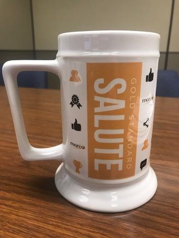 Gold Standard Salute Mug