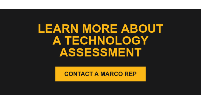 Learn More About a Technology Assessment Contact a Marco Rep