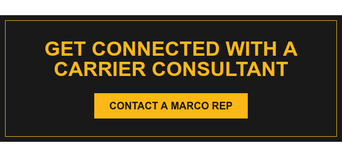 Get Connected with a Carrier Consultant Contact a Marco Rep