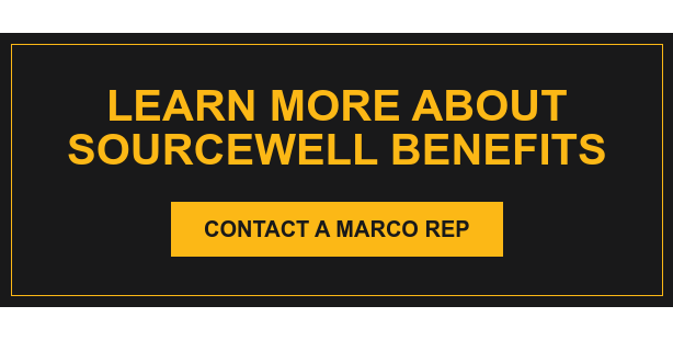 Learn More About Sourcewell Benefits Contact a Marco Rep