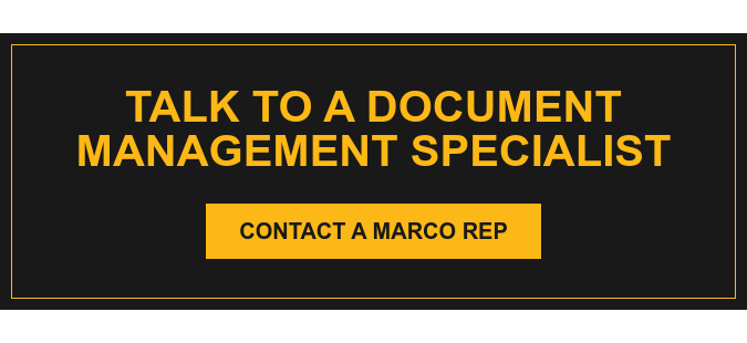 Talk to a Document Management specialist Contact a Marco Rep
